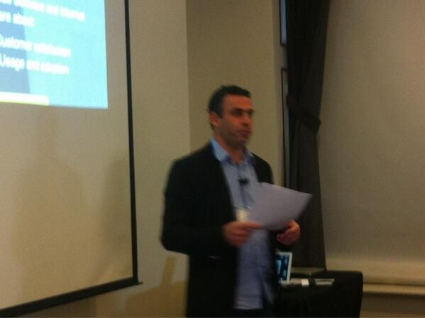@guynirpaz  kicking off the Customer success summit. Please use #CSSummit or #ProCustomer. http://t.co/3X8tf28q9K