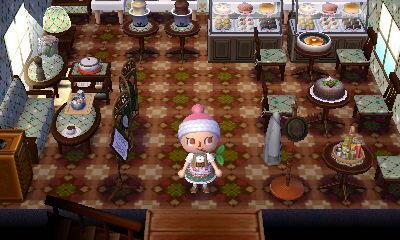 とび森 カフェ