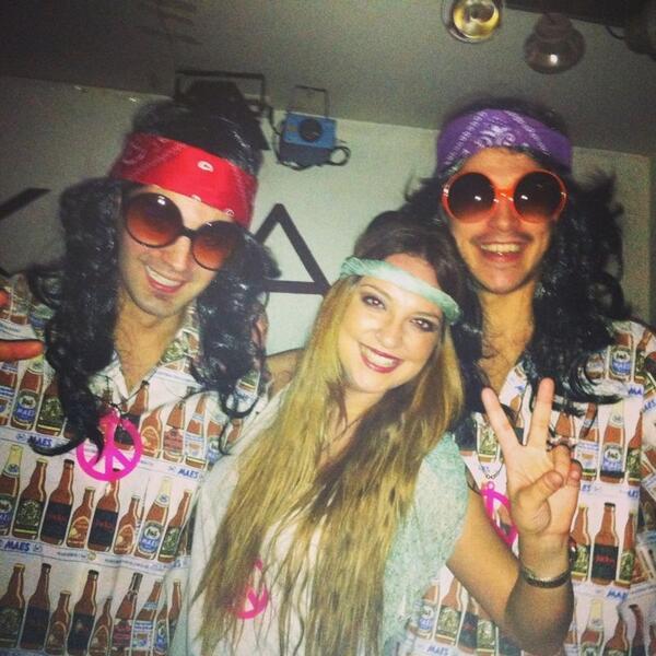 Noche hippie n l krass, venid al buen roliiiito!!!!