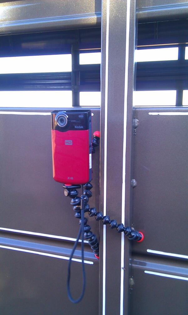 Twitter / BeckyMcCray: Using my GorillaPod to mount ...