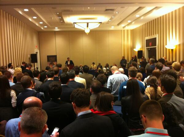 CPAC bars @GOProud for 2nd consecutive year. CEI invites @GOPROUD to panel. Result: http://pic.twitter.com/AfahbKeAx3