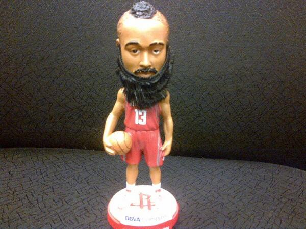 Rockets giving away James Harden bobblehead next month (Photo)