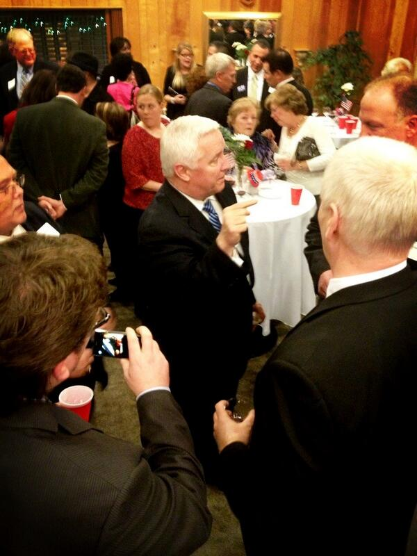 Twitter / shanedunlap: Gov #Corbett makes greetings ...