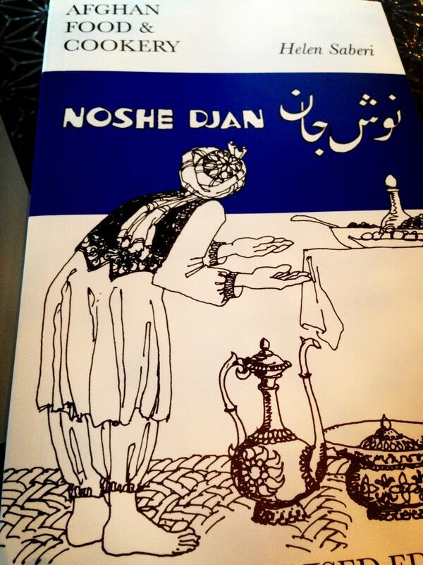 afghan food cookery noshe djan