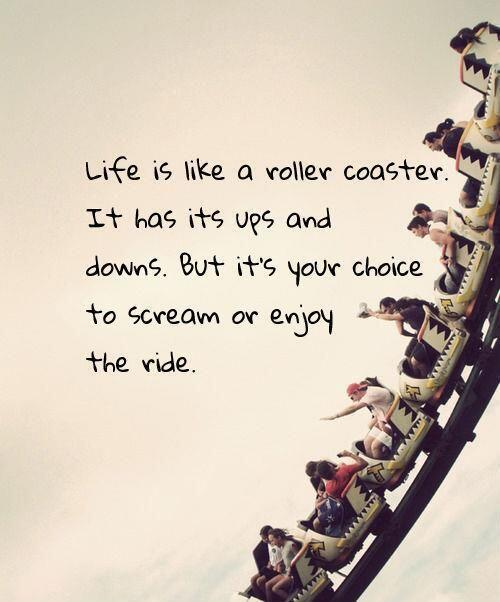 Twitter / peclaveria: Life is like a roller coaster... ...