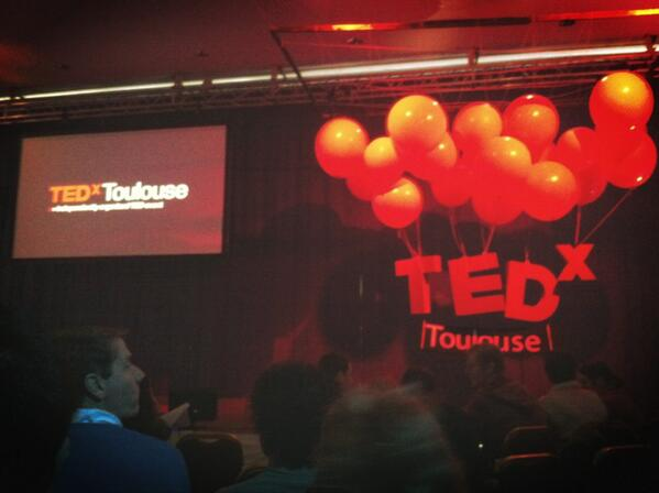 At #TEDxToulouse http://pic.twitter.com/axst8DfhlP