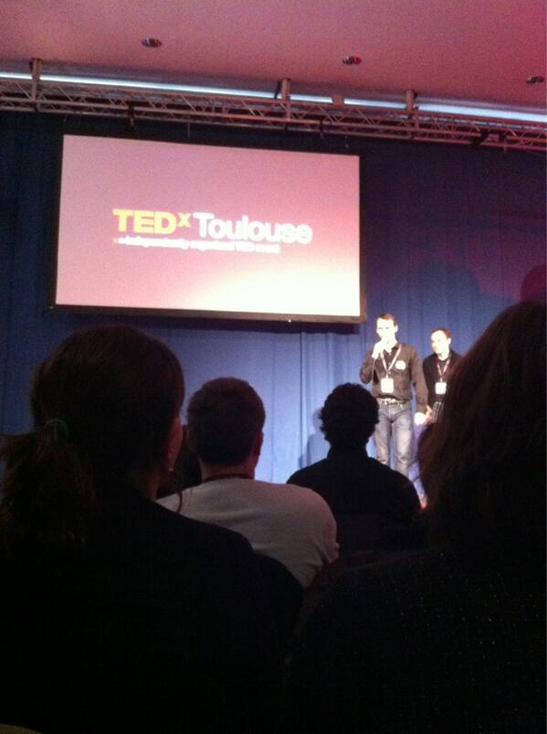 #TEDxToulouse  c'est parti ! http://pic.twitter.com/JyTV8IWWFi
