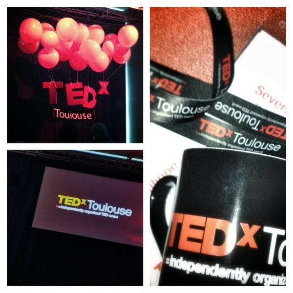 On est prêt !!! #TEDxToulouse http://pic.twitter.com/GDt2ot3ndT