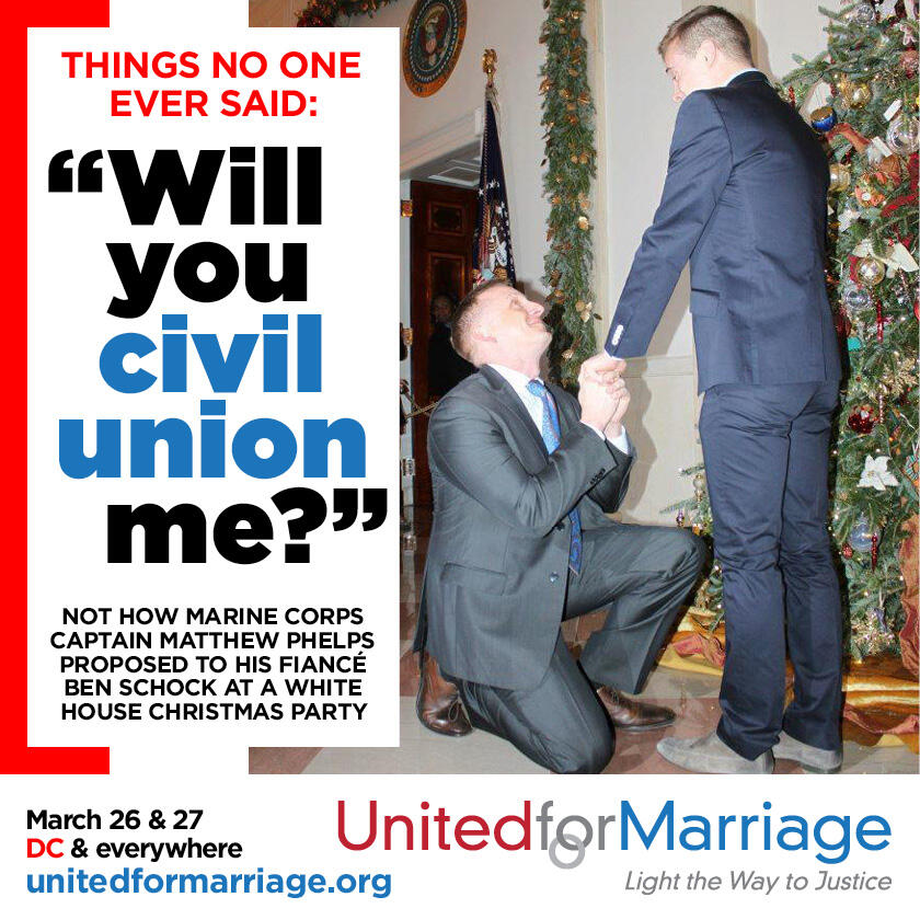 civil union or marriage Civil union is not the same thing as marriage civil union is a recognized union, just like that of marriage, but civil union does not enjoy the same legal rights as.