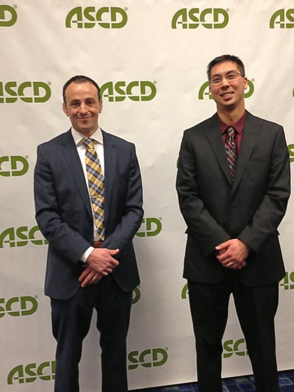 Another big congratulations to our 2013 OYEA winners @Garciaj9Josh and Ryan Twentey! #ASCD13 http://pic.twitter.com/TqqkgLXP78