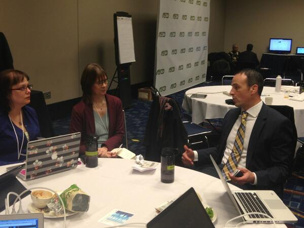 @Garciaj9Josh talking to us press folks. :) Inspiring guy. #ASCD13 http://pic.twitter.com/YIOSAwJBiG