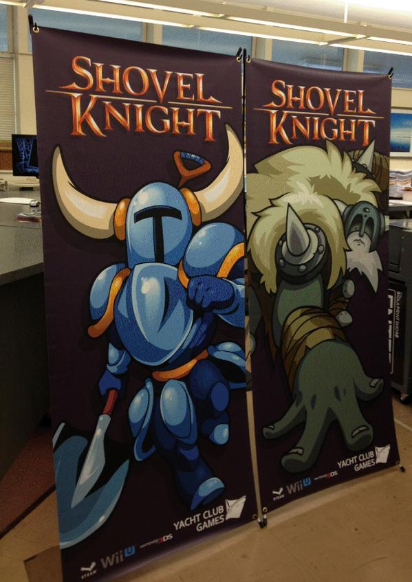 Shovel Knight para Wii U y Nintendo 3DS