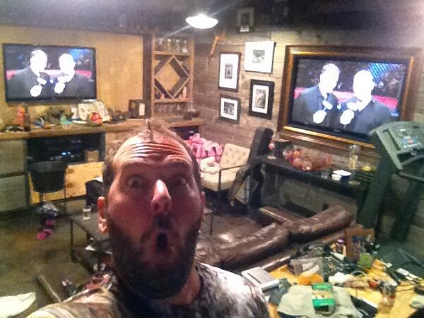 Man Caves Bert The Conqueror : Future man cave except with vaulted ceilings so i can hang my