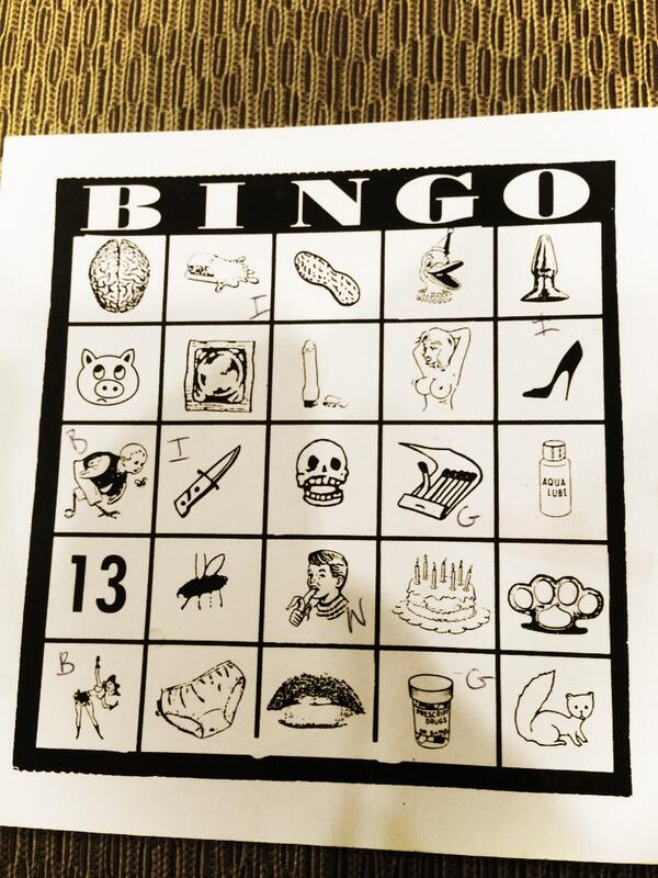 Bingo at @CatalystCon while waiting for @cinekink #cconbingo #ccon http://pic.twitter.com/yJ0StMCSMm