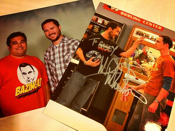 Twitter / caseyflorig: Met @wilw at #megacon Mission ...
