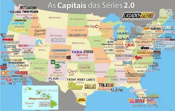 Vertele On Twitter Gran Infografia FuriaGuionista El Mapa De - Mapa de usa