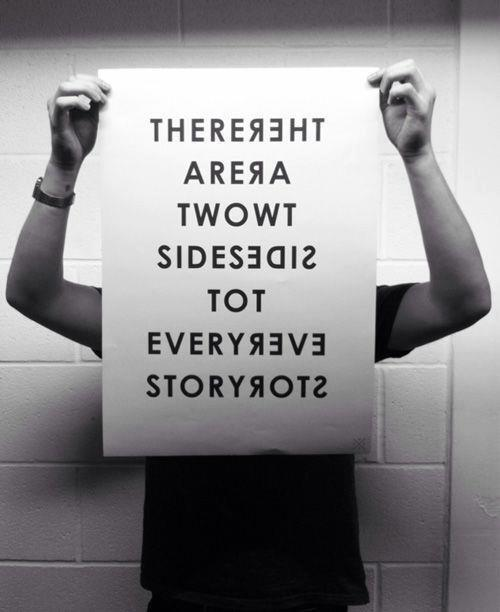 Twitter / JoyAndLife: There are two sides to every ...