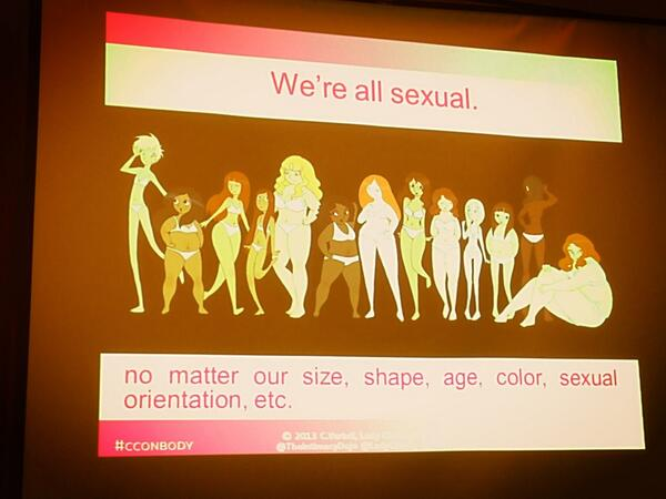 We are all sexual. #cconbody #ccon http://pic.twitter.com/cEdXlYe7bn