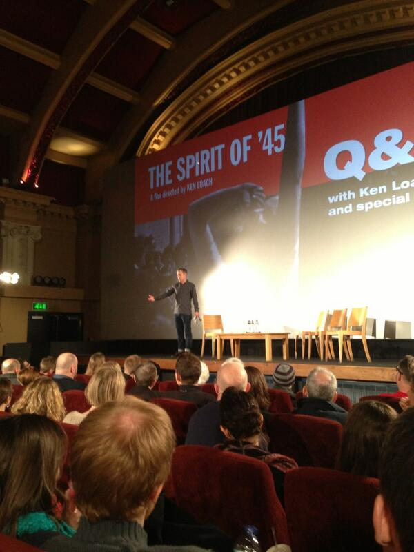 Applause for @JeremyJHardy as he introduces our esteemed panel... #Spiritof45 http://pic.twitter.com/DCguUuJYe7