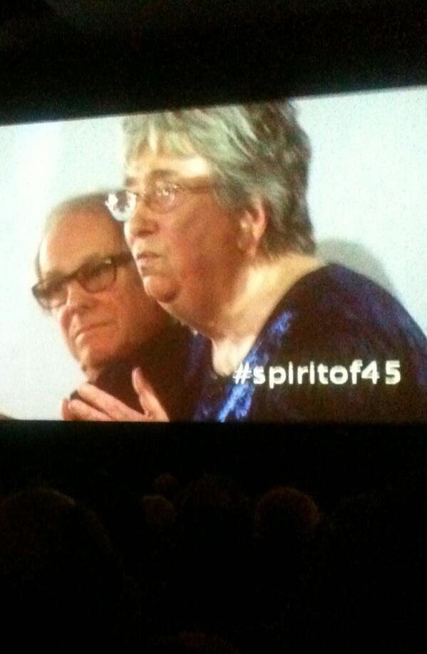 Twitter / kwjourno: #spiritof45 The view from ...