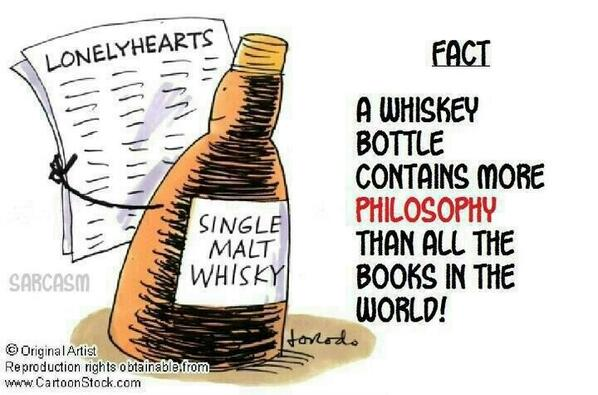 Twitter / JoyAndLife: A #whisky bottle contains more ...