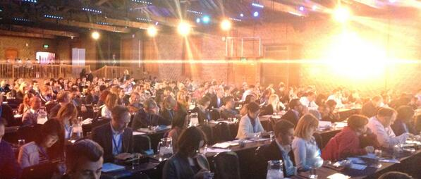 Twitter / papadimitriou: A brighter audience. #SMWF ...