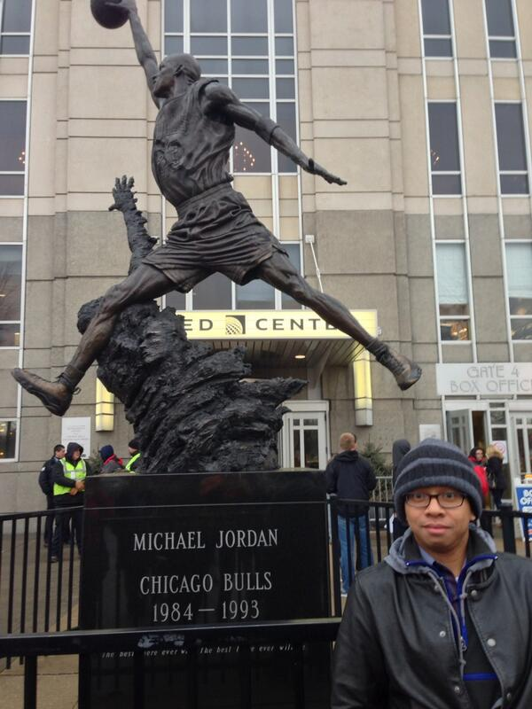 Twitter / asyafa: At the United Center home of ...