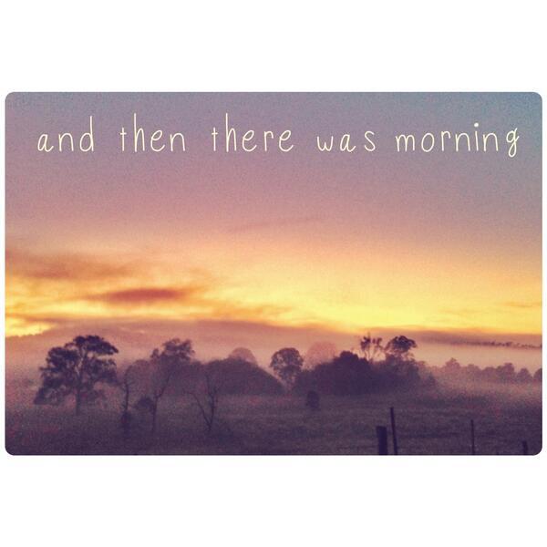 Twitter / jnxyz: Today's sunrise, shared ...