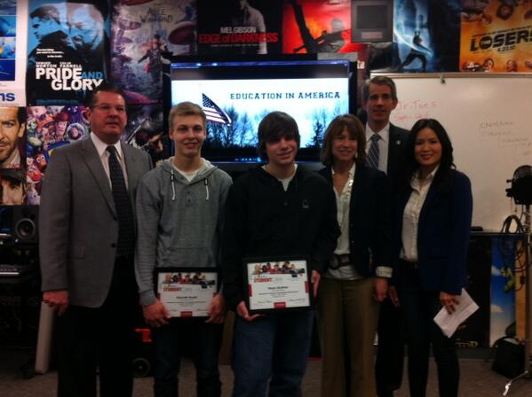 Twitter / cspanbus: @StudentCam #MountSiHS winners ...