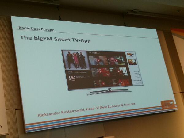 Phone app stores overcrowded. TV apps the next frontier to dominate early. #rde13 http://pic.twitter.com/zSNIc2k0XI
