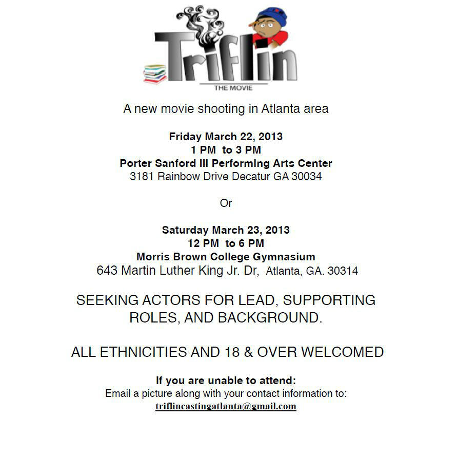 Twitter / gafmde: CASTING CALL NEWS: Fri, March ...