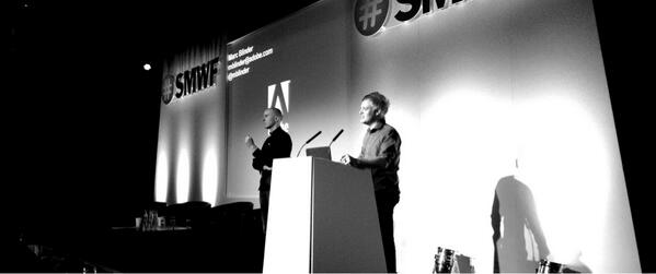 Twitter / papadimitriou: #SMWF @montemagno talking ...