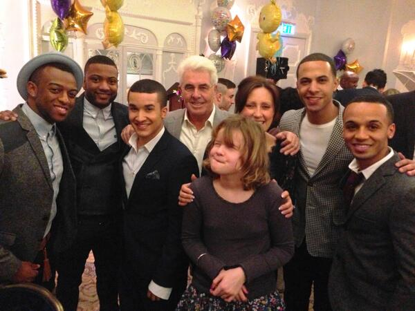 Thanks to @JLSOfficial and @JahmeneDouglas for coming down to the Dorchester to lend their support to @SSChospices. http://t.co/ShRAc7yVcC