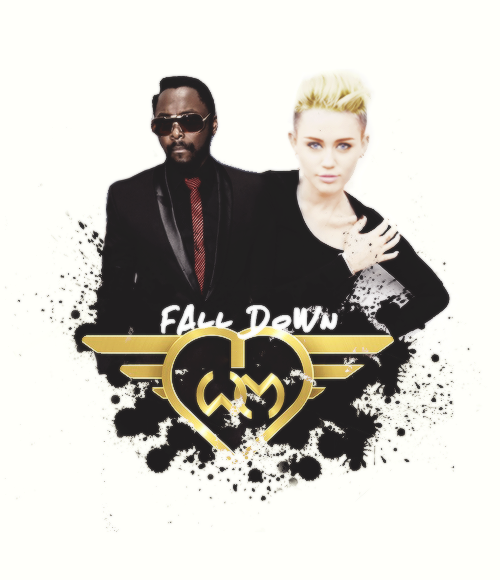 "Single ⇨ ""Fall Down"" (Will.i.am Feat. Miley Cyrus) BFvlUCnCQAA2kA9"