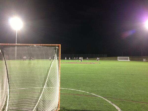 Twitter / HSCCoachB: Practice under the lights. ...