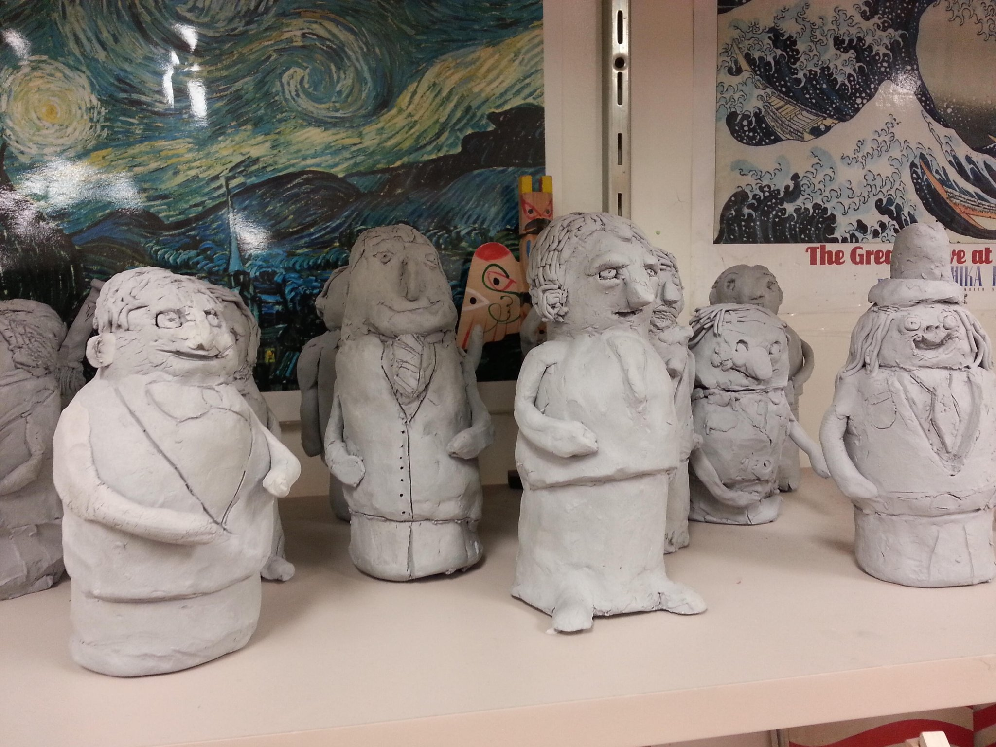 Twitter / punctiliar: In the art room at #teamholmes ...