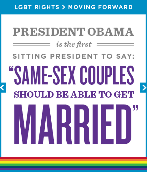 Twitter / BarackObama: RT if you stand with same-sex ...