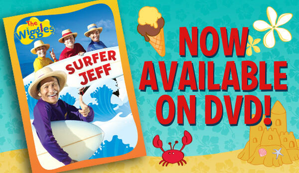 Surfer Jeff Dvd The Wiggles' Surfer Jeff
