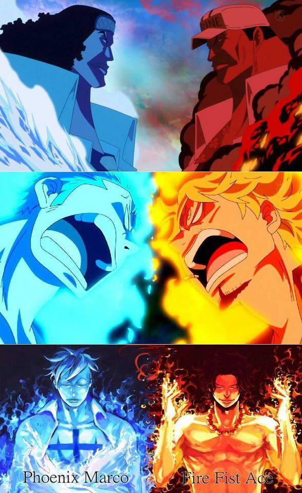 Marco vs Ace, Akainu vs Aokiji & Sanji vs. Zoro!!! Who is stronger? Who  will win? #OnePiece http://t.co/2id36oT3ot""
