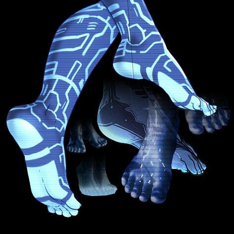 ebony stinky feet