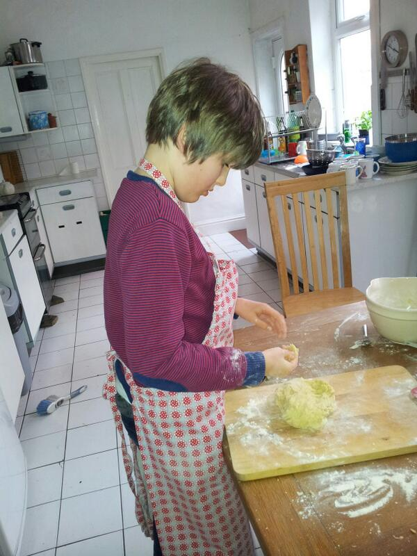 #autismis #waad @ambitiousautism the first successful baking session at home http://t.co/SPyLSm5Esx