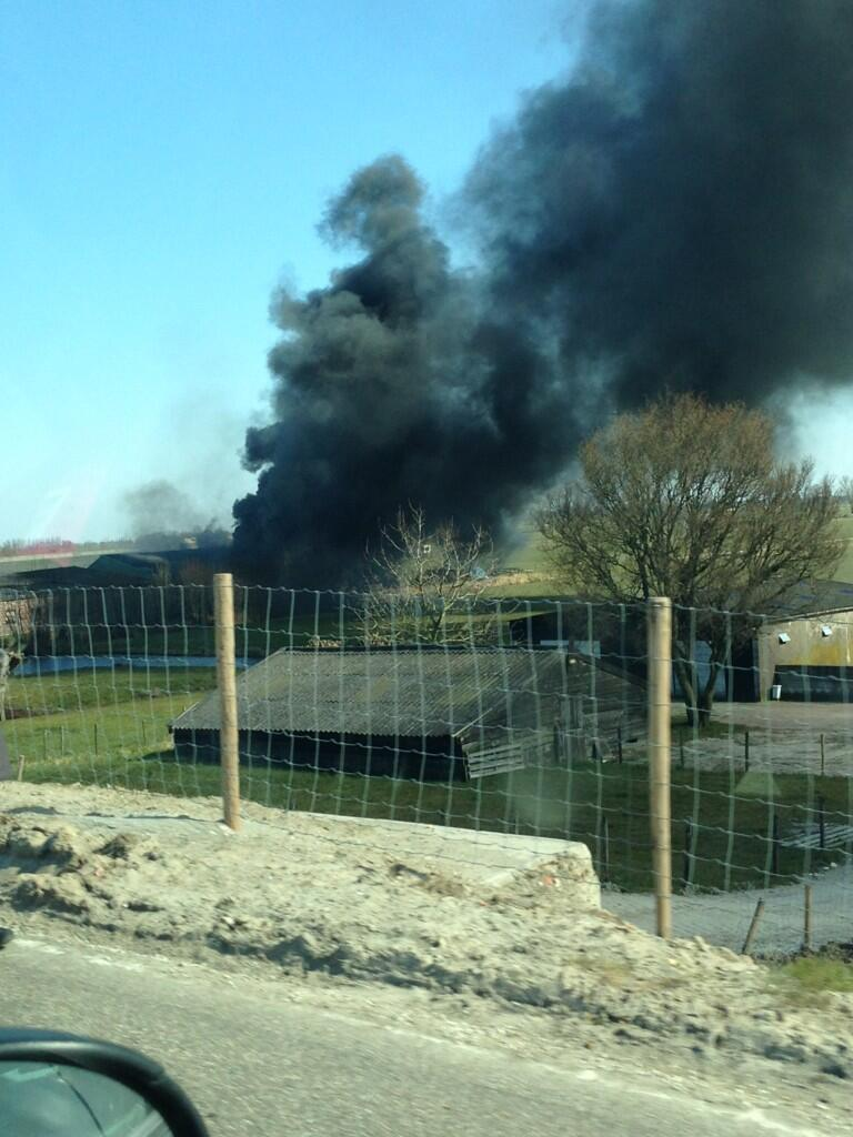 Twitter / loessx: Aardige brand in Nieuw-Lekkerland ...