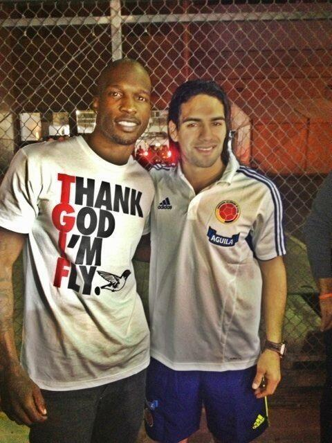 Twitter / ochocinco: Ok there is @FALCAO RT @JShaff_: ...