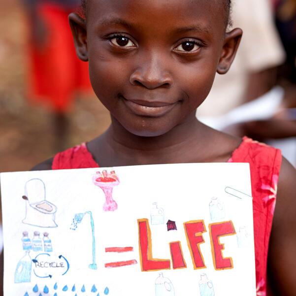 Twitter / charitywater: Water = Life. A sweet little ...