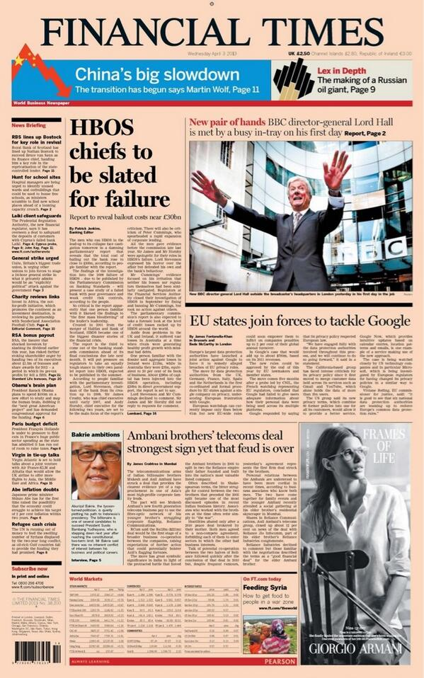 FT front has Tony Hall looking as if he's still conducting Royal Opera http://pic.twitter.com/DbQHUnklOG
