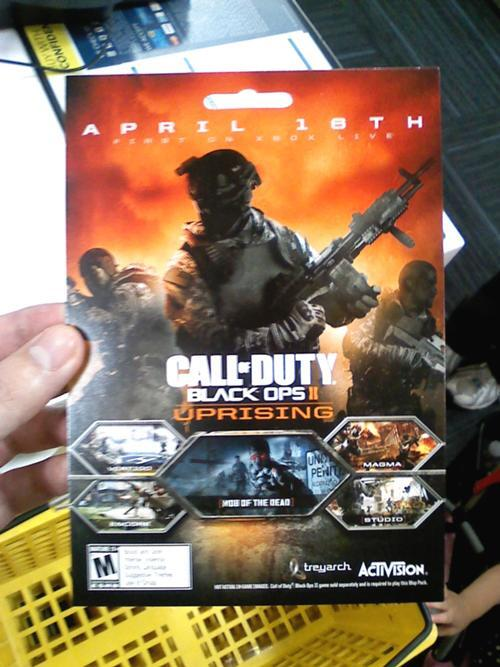 Uprising Map Pack Black Ops 2 Uprising map pack leaked? | NeoGAF