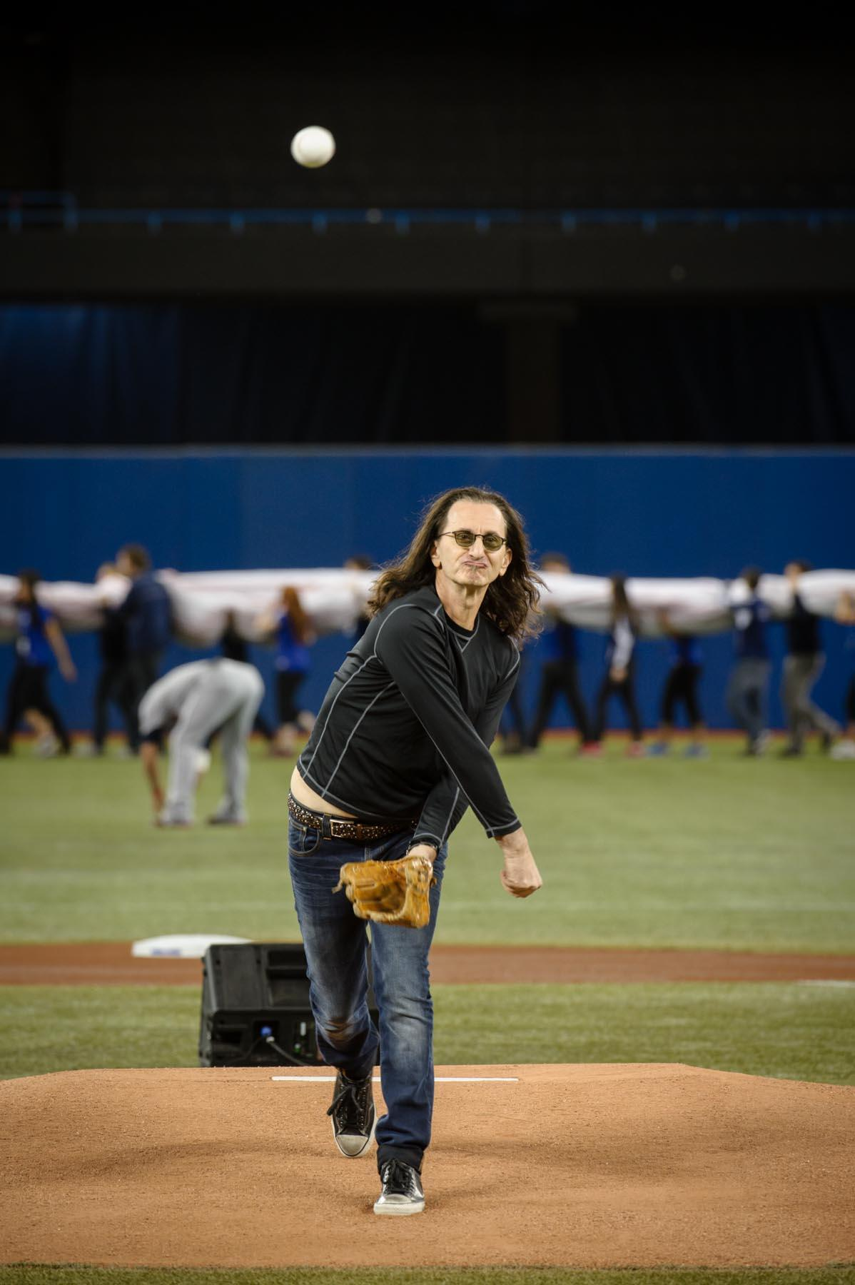 Twitter / BlueJays: Geddy Lee of the band Rush ...