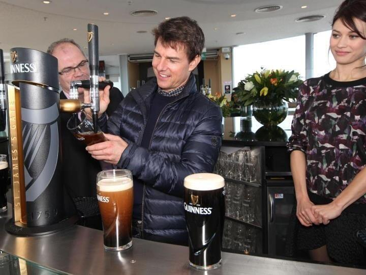 Twitter / airjaneob: Tom cruise in #ireland at the ...