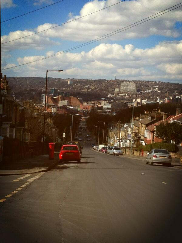 Love this view #Sheffield http://t.co/p62XT02KH4