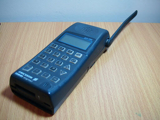 Just found a picture of the first mobile phone I ever owned. In 1996. http://pic.twitter.com/hbvy7QdoCH